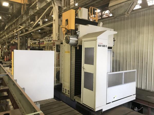 MITSUBISHI MAF150S-C CNC TRAVELING COLUMN HORIZONTAL BORING MILL