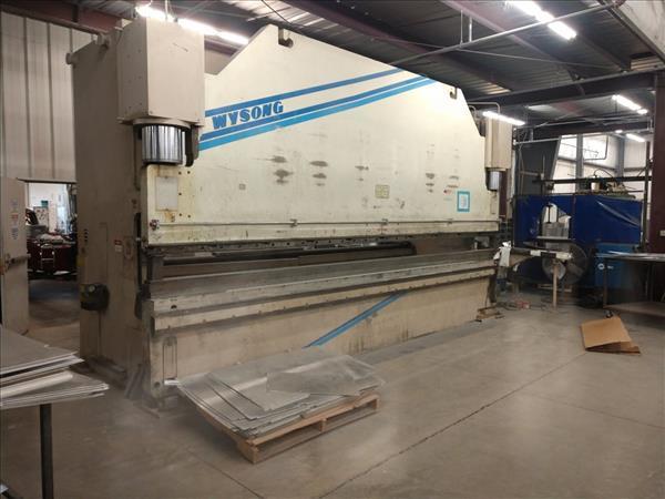 WYSONG FAB500-240 HYDRAULIC 6-AXIS CNC PRESS BRAKE