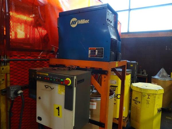MILLER AUTOINVISION II MIG WELDING POWER SUPPLY