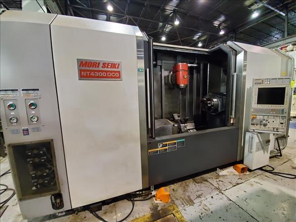 MORI SEIKI NT 4300 DCG/1500 6-SIDED TURNING & MACHINING CENTER