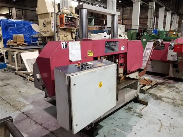 BEHRINGER HBP 430A AUTOMATIC HORIZONTAL BAND SAW