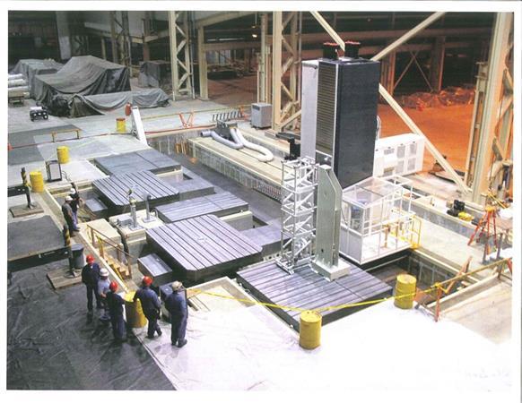 GIDDINGS & LEWIS FTR 5000 CNC FLOOR TYPE HORIZONTAL BORING MILL