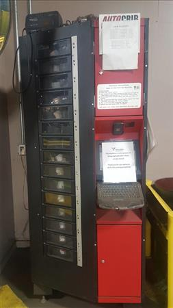 AUTOCRIB ROBOCRIB 1000 INDUSTRIAL VENDING MACHINES, (3) AVAILABLE