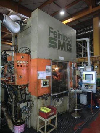 FEINTOOL SMG HFA 6300 650 TON HYDRAULIC FINE BLANKING PRESS