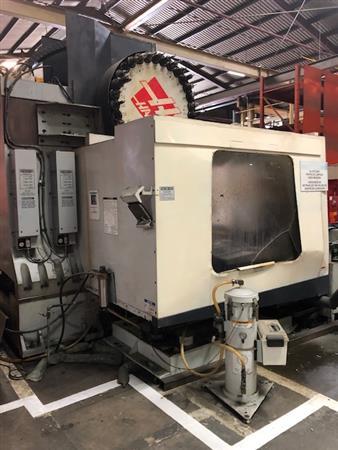 HAAS VF8/50 CNC VERTICAL MACHINING CENTER W/ MIDACO PALLET CHANGER