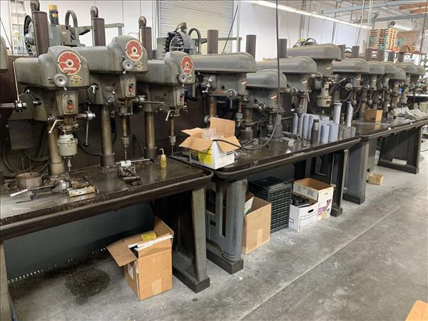 DELTA DRILL PRESSES, (14) AVAILABLE