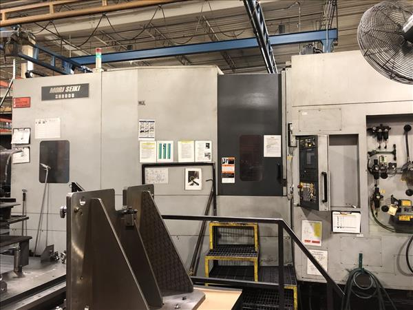 MORI SEIKI SH8000 CNC HORIZONTAL MACHINING CENTER