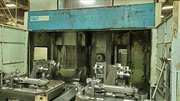 TOYODA FH100 HORIZONTAL MACHINING CENTER