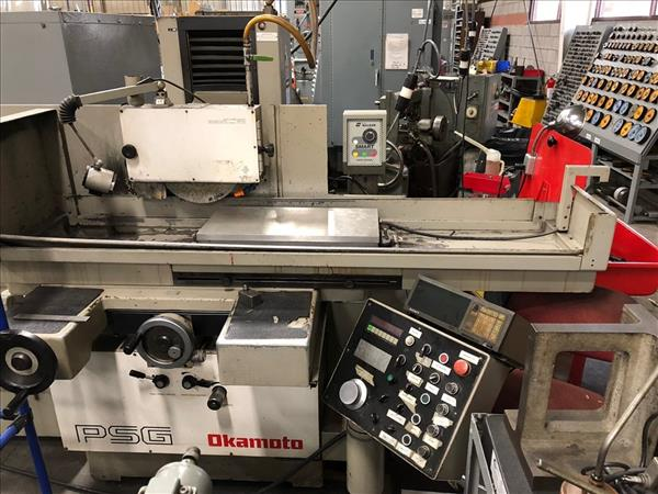 OKAMOTO ACC 124DX 3-AXIS RECIPROCATING SURFACE GRINDER