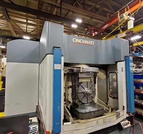CINCINNATI HPC-630XT 5-AXIS CNC HORIZONTAL MACHINING CENTER