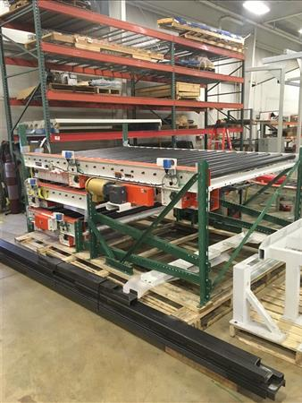 CONVEYABILITY 625 SILLS 8-ZONE TOTE CONVEYOR - NEW, NEVER INSTALLED