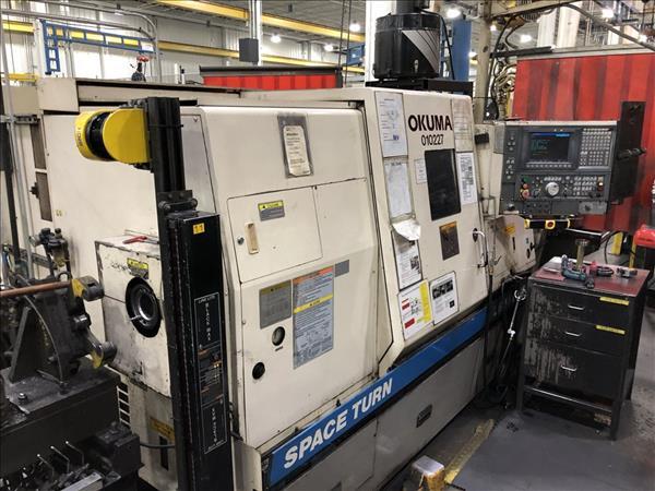 OKUMA SPACE TURN LB400-M CNC LATHE