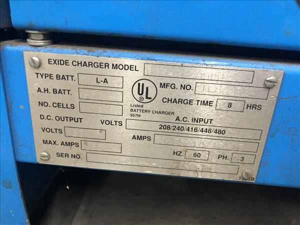 EXITE D3F-18-850B BATTERY CHARGER