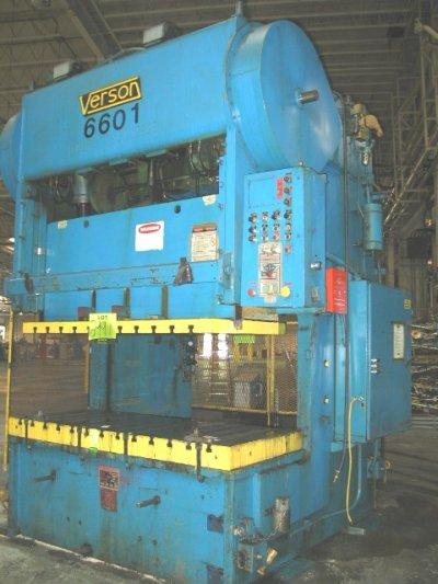 "150 Ton, VERSON 150 – GP2 – 72, 8"" Str, 1978, 84 X 36 BA, 30"" SH, 8"" ADJ, 40SPM, CUSH"