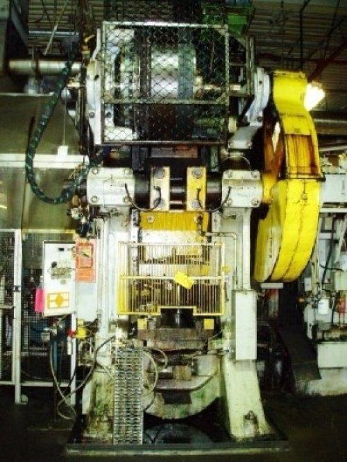 "600 Ton, BLISS 25A, 3.5""STR, 36""X34""BA, 18.5""SH, 1/2""ADJ, 42SPM"