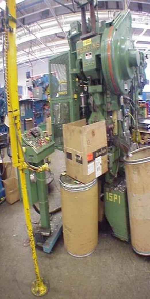 """15 Ton, PERKINS, MODEL 15-S, 2"""" STR, 7.25"""" SH, 20"""" X 10"""" BA, 90-300 SPM"""