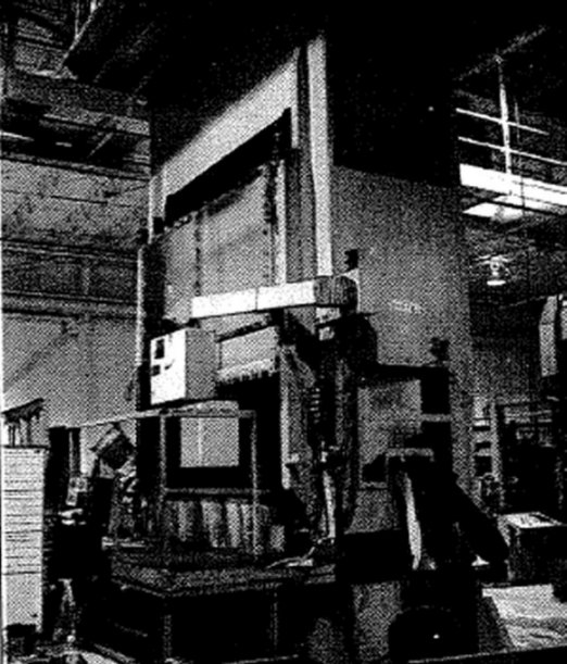 "600 Ton, MACRODYNE MPP600, 12""Str, 28""DLO, 96"" x 48"" BA, 16"" SH, 25 SPM, 1999"