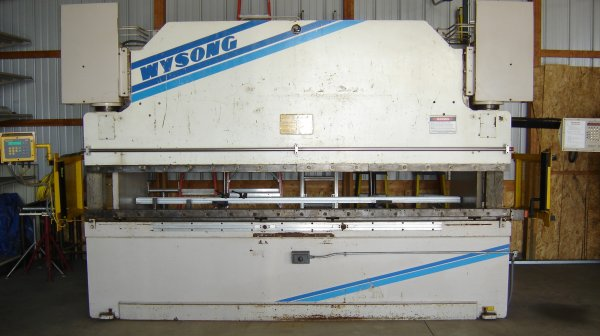"175 Ton, WYSONG MTH175-144, 8""STR, 17""DLO, 144""BA, 126""BTH, AUTOGAGE 99 CNC BG"