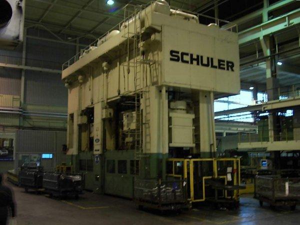 """3500 Ton, SCHULER T3-3500-10-650, 3 RAMS, 10 STATION, 180""""BA, CUSHION"""