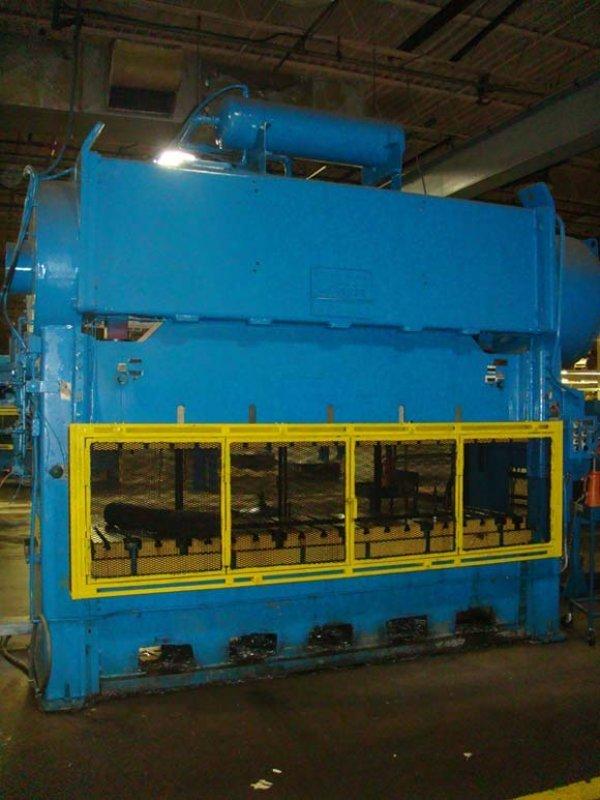 "130 Ton, WARCO MODEL 130-2-120E, 8""STR, 20""SH, 120""X27""BED, 20""WIN, 35SPM"