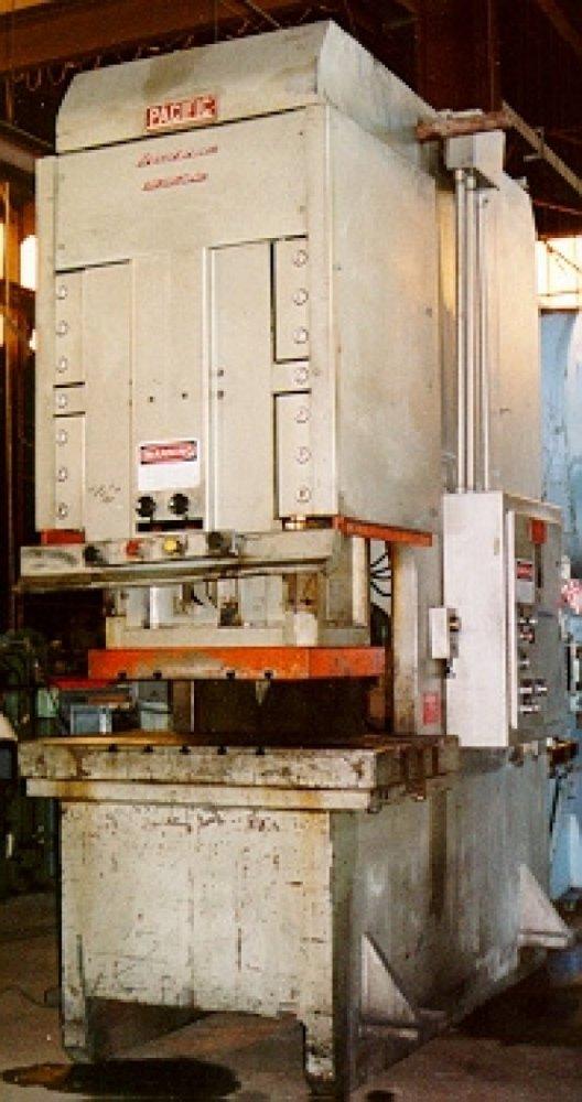 """250 Ton, PACIFIC 250PF-OBS PRESSFORMER, 12""""Str, 22""""DLO, 58""""X34""""BA, 1984"""