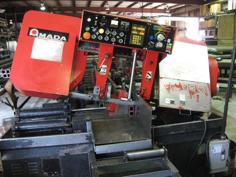 "AMADA HFA400W, .5""-16"" ROUND CAP, 16""X16"" RECTANGLE CAP, 50-295 FPM, 1999"