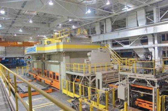 """4500 Ton, CLEARING TSE8-3000-1500-216-108, 26""""/37""""STR, 216""""X108""""BA X 2, 6-9SPM"""