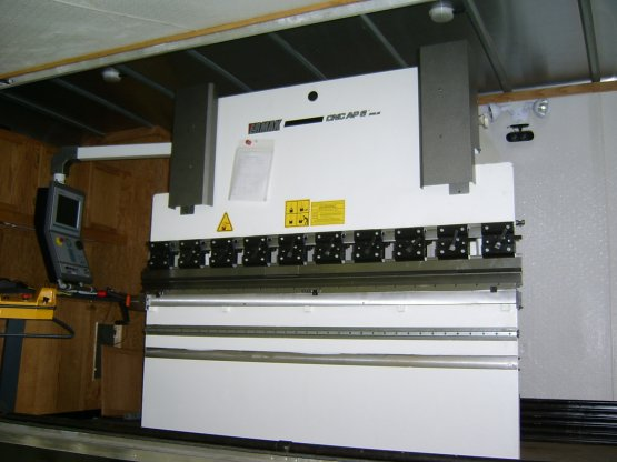 "35 Ton, ERMAK CNCAP 2100-35,4""STR,82.7""BED, 61""BH, 12""DLO, 2006,"