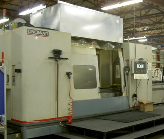 "80""X, 30""Y, 30""Z, CINCINNATI LANCER V5-2000, 5-AXIS, 90""X30""TABLE, 15K RPM,"