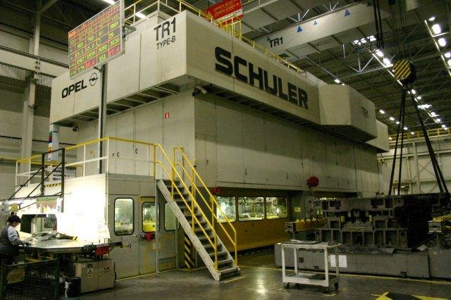3200 Ton, SCHULER TBS-3200-6-1800, 6-STATION, 8-18SPM, 1160mm SH, CUSHIONS