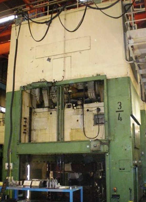 500 Ton, RICHTER MODEL S500, 3000 X 1300MM BA, 4-20 SPM, DIE CUSHION, ROLL BOLST