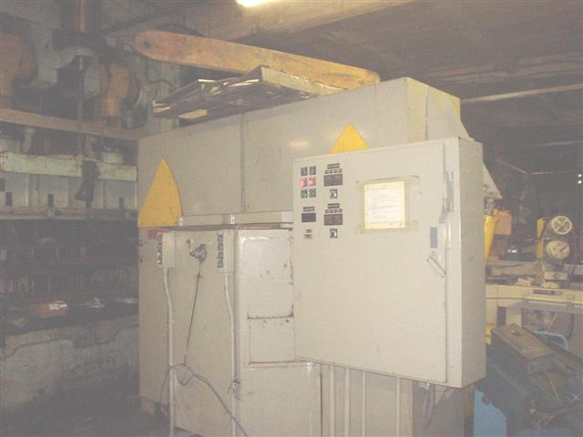 ALMCO 2SF48D DEEP TUB SPINDLE TYPE FINISHING MACHINE & DEBURRING