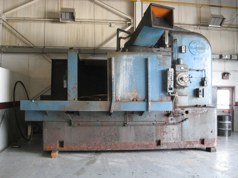 "84"" BLANCHARD VERTICAL SPINDLE ROTARY SURFACE GRINDER, NO. 42-84, ELECTRO-MAG. T-SLOT CHUCK, 150 HP SPINDLE MOTOR, 1969"
