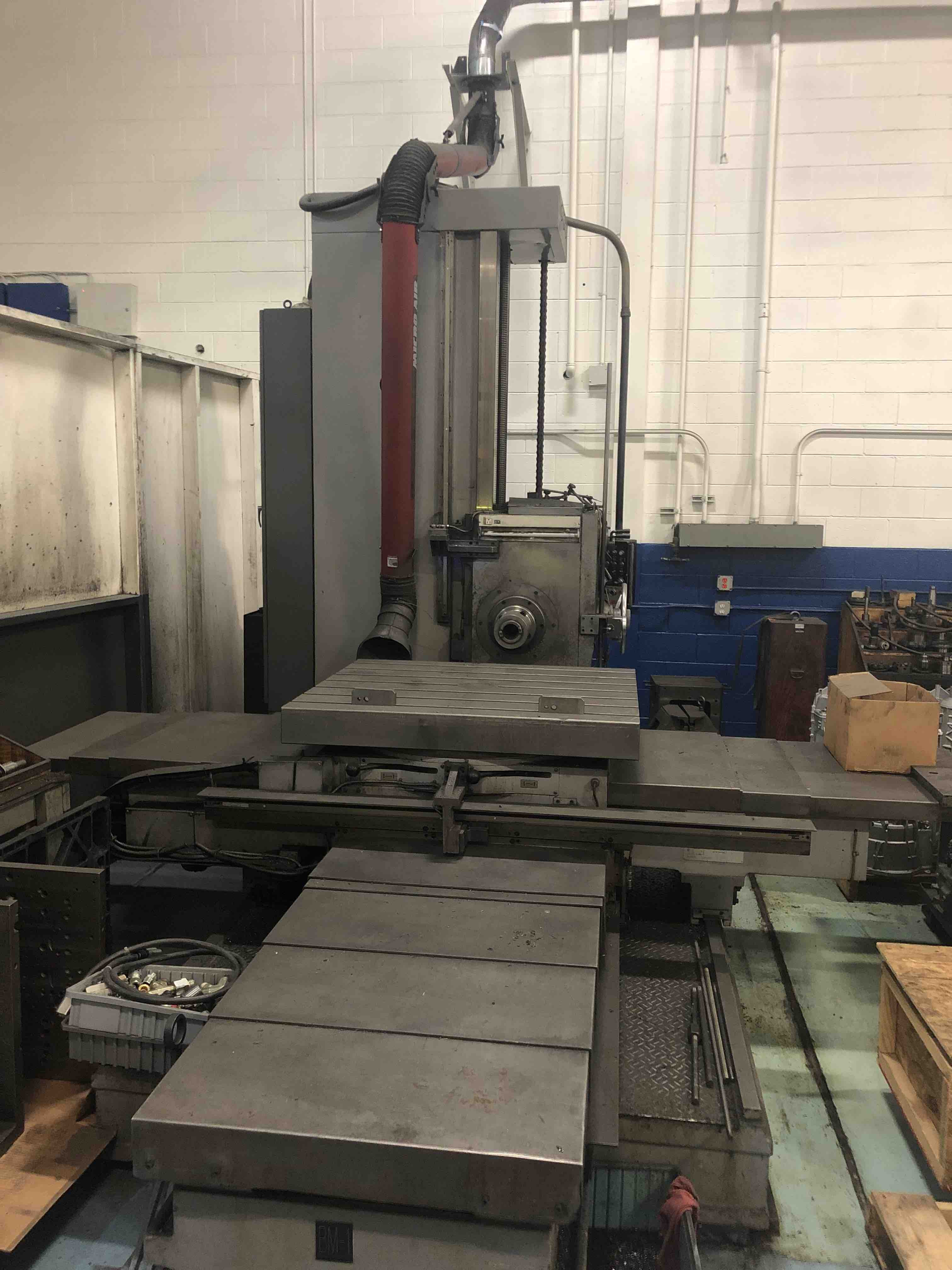 "4"" KURAKI TABLE TYPE HORIZONTAL BORING MILL, MODEL KBT-1003W"