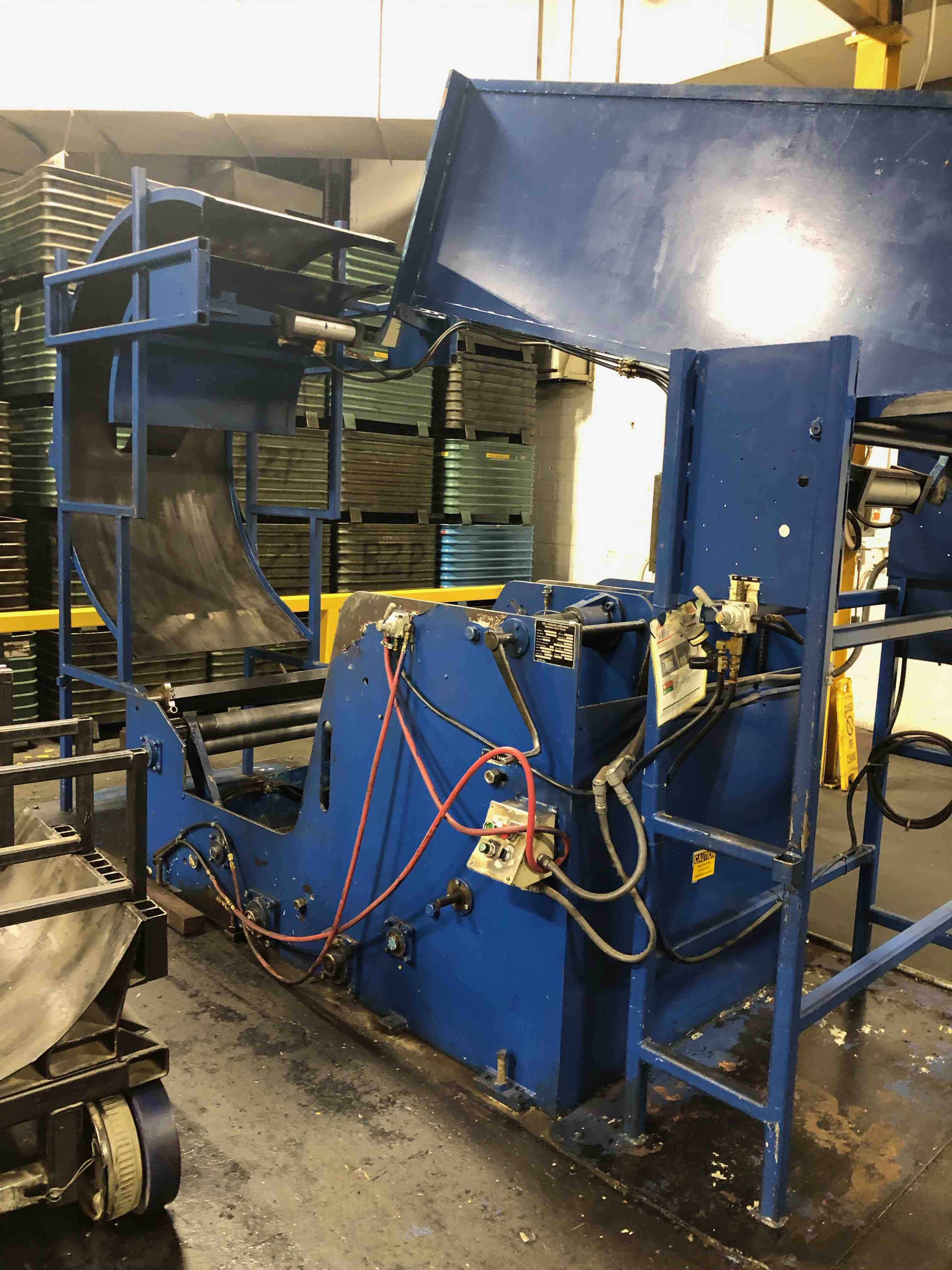 "36"" W X 10,000 LBS X .125"" CWP COIL FEED LINE, COIL CRADLE MODEL C100-36, 36"" W CWP STRAIGHTENER / SERVO FEEDER MODEL SMX36DSF11"