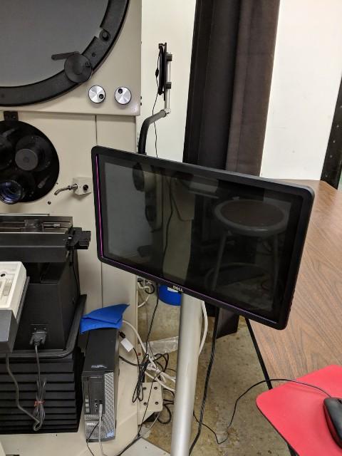"24""  (2013) Horizontal Beam Optical Comparator"