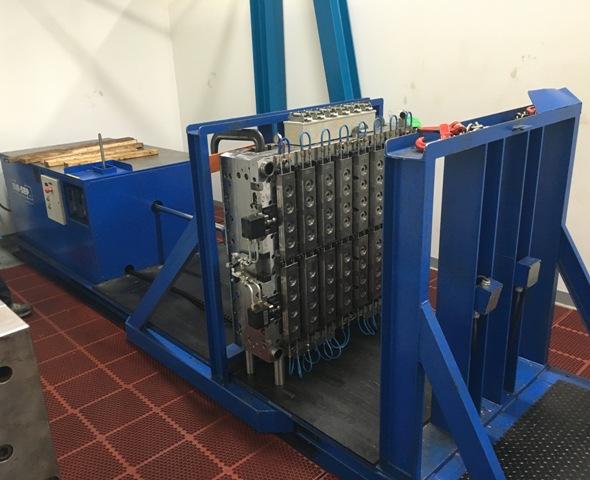 Die-Sep TT-68-2-9 (11/2005)  Die Set Mold Splitter  Separator Capacity 20,000 Lbs