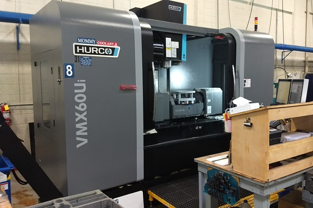 Hurco VMX 60Ui (2015 Del. New 2016) Vertical Machining Center with 24 HP 5 Axis Trunnion Table Style