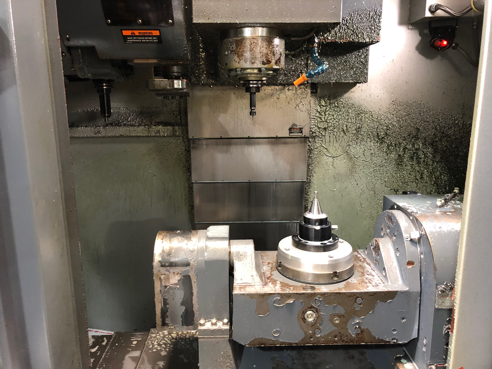 Leadwell V-20iT 5 Axis Vertical Machining Center (2011)