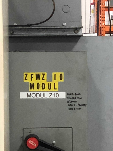 Modul ZFWZ 10 CNC Gear Hobbing Machine
