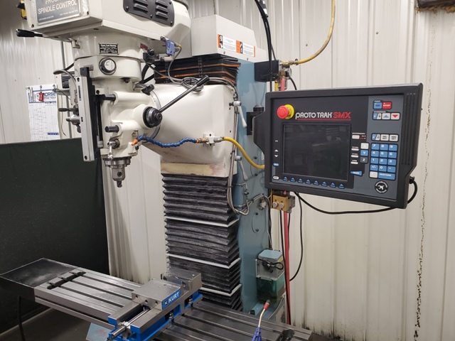 Southwestern Industries DPM SX3P, (2013) SMX Control,  Programmable Spindle
