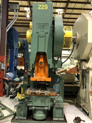 110 Ton USI Clearing #110 C-Frame Press