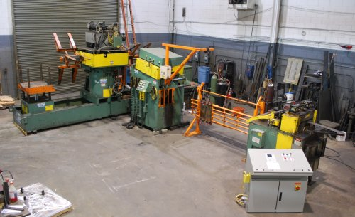 6000 Lbs. DALLAS Servo Coil Feed Line