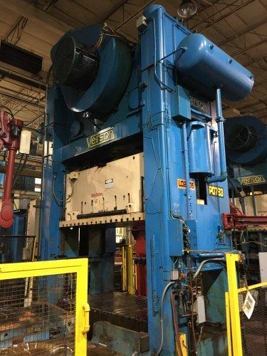 800 Ton Verson S2-800-108-60t Straight Side Press