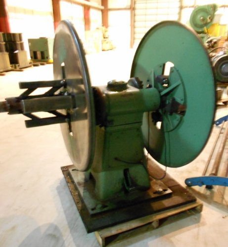 "4000 Lbs. Littell 40-12 Double End Reel, 12"" Max. Coil width"
