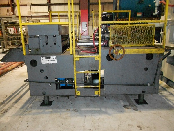 "72"" W. x .075"" DALLAS, No. 2D400, Double Air Feed with Straightener"
