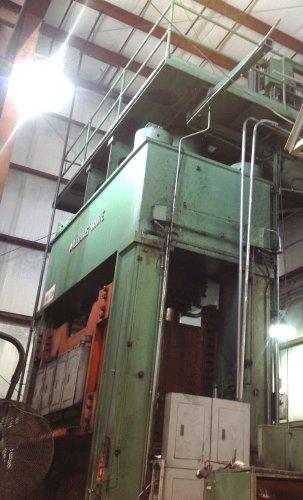 1500 Ton WILLIAMS & WHITE Hydraulic Press