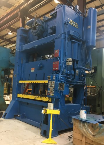 300 Ton Verson S2-300-96-54t Straight Side Press