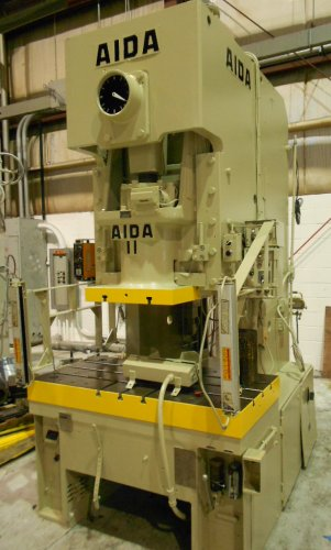121 Ton Aida C-11(2), Gap Press