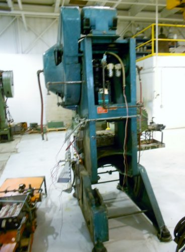 45 ton Bliss C-45, OBI C-Frame Press